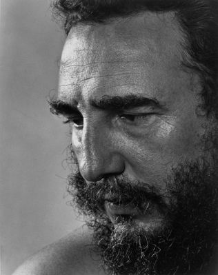 Fidel Castro by Yousuf Karsh, 1971