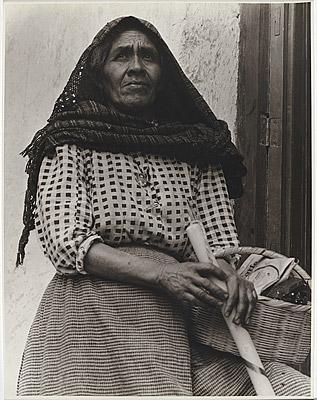 La Criada - Cuautla, Mexico by Anton Bruehl, 1933