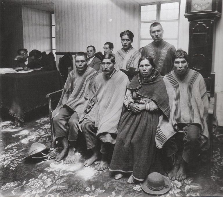 Campesinos acusados en juzgado, Cuzco by Martín Chambi, 1929